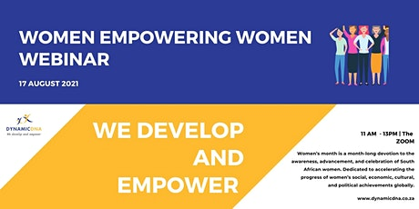 Women Empowering Women Webinar boletos