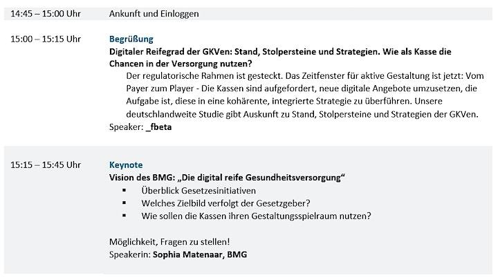 Digitaler Reifegrad der GKVen und PKVen: Stand, Stolpersteine, Strategien.: Bild