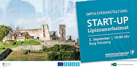 Impulsveranstaltung - Start-up Lipizzanerheimat Tickets