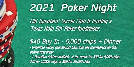 OISC Poker night 2021 tickets