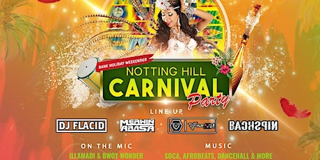 Notting Hill Carnival Party tickets