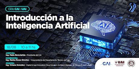 #CicloCAI -UAI Introducción a la Inteligencia Artificial tickets