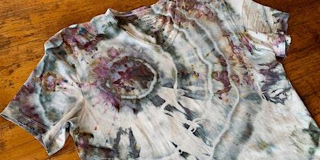 Ice Tie Dye Online Workshop for Beginners tickets