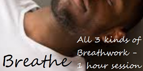 Breathe Online 1 hour Breath Meditation -  Mon lunch AND Alternate Thu eve tickets