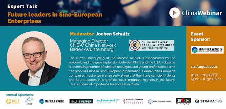 """Future leaders in Sino-German Enterprises"": Bild"