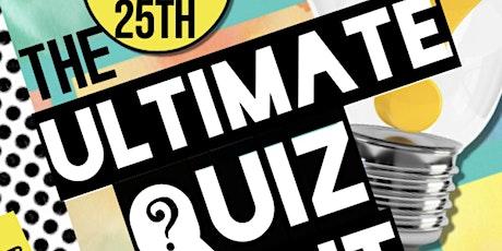 Tabor Ultimate Quiz Night tickets