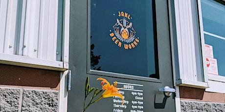 Yoga @ JAKL Beer Works tickets