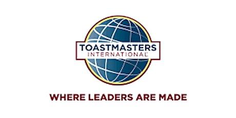 Toastmasters City Women Speakers - Speech contest tickets