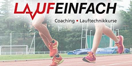 Lauftechnikverbesserung, gelenkschonender effizienter Laufen in Bonn Tickets