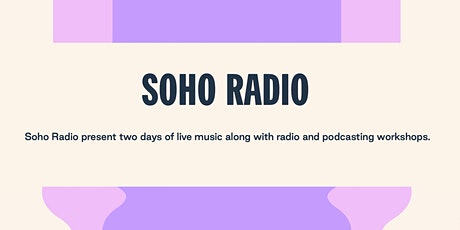 Free radio & podcasting workshops at South Facing Festival - Crystal Palace tickets