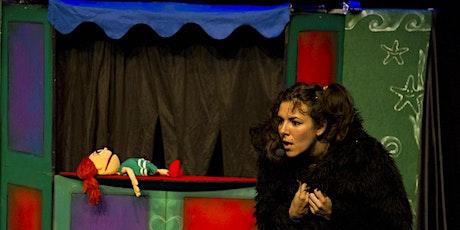 Titirisónics PERRO AZUL Y EL SECRETO DEL DRAGÓN(MENUTSBARRIS)Teatro títeres entradas