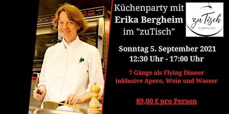 Küchenparty mit Erika Bergheim Tickets