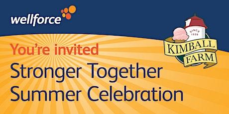 Stronger Together Summer Celebration tickets