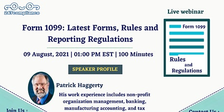 Form 1099: Latest Forms, Rules and Reporting Regulations tickets