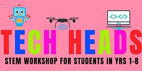 Tech Head Kids STEM Workshop 1 Thursday 30th September tickets