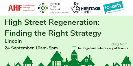 *Fully Booked* High Street Regeneration: Finding the Right Strategy tickets