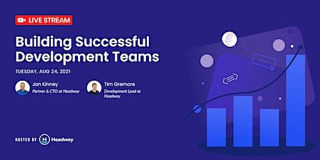 Building Successful Software Development Teams tickets