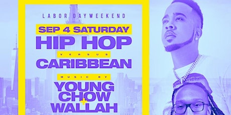 Hip Hop vs Caribbean Labor Day Weekend tickets