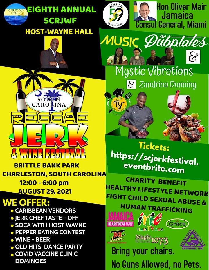 SC Jerk Reggae Wine Festival image