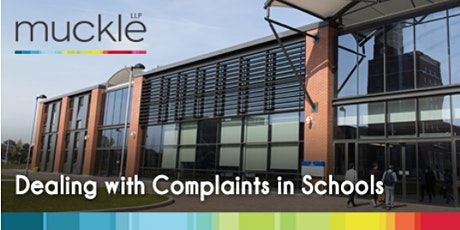 Dealing with Complaints in Schools tickets