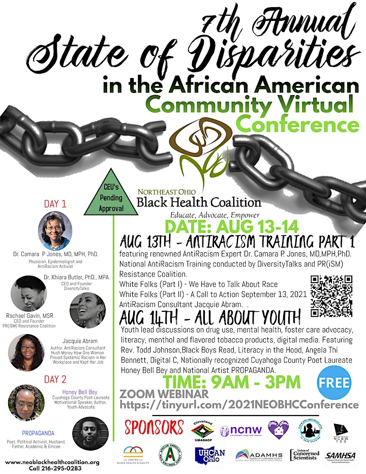 State of Disparities in the African American Community Race in America image