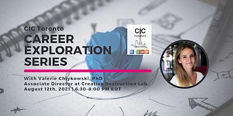 Career Exploration Series w/ Valerie Chiykowski, Associate Director at CDL tickets