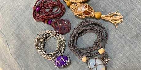 BlueJae Macrame  Necklace Workshop tickets