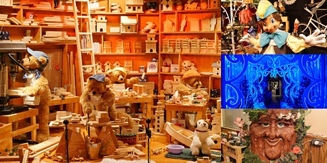 A Real Life Santa's Workshop: Behind-the-Scenes @ Mechanical Displays tickets