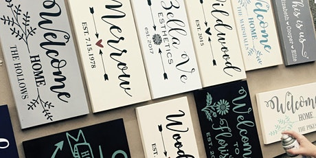 SEPTEMBER SIP & CHAT - Sign Painting Workshop @ Willow Spring Vineyards tickets