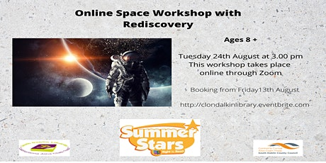 Online Space Workshop with Rediscovery - Ages 8 + tickets