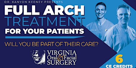 Embrace and Grow: FULL ARCH Implant Treatment in YOUR Practice tickets