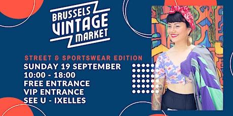 Brussels Vintage Market - Street & Sportswear  - 17 October tickets