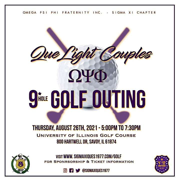 Sigma Xi's Que Light Couples Golf Outing image