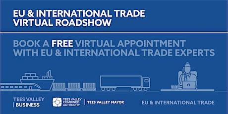 EU & International Trade Virtual Roadshow – Redcar & Cleveland tickets