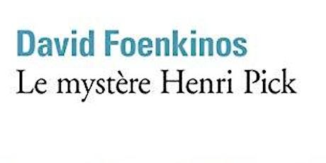 ONLINE Club de Lecture - Le mystère Henri Pick entradas