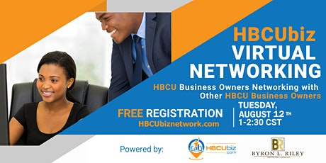 HBCU Biz Networks  - Virtual Networking Event tickets