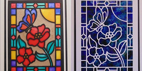 Autumn Arts & Craft Fair - Stain Glass Effect Cards tickets