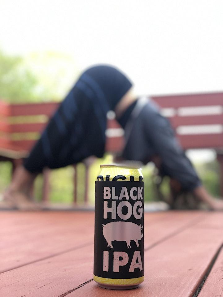Yoga+Beer+Reggae @Blackhog Brewery image