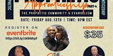 Prophetic Apprenticeship tickets