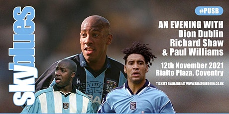 An Evening with Coventry City Legends tickets