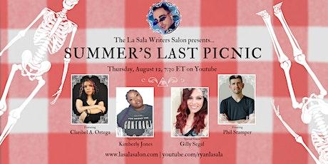 The La Sala Writers Salon - SUMMER'S LAST PICNIC!!!! Aug. 12 (free/digital) tickets