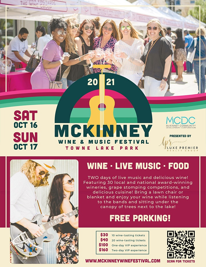 5th Annual McKinney Wine & Music Festival image
