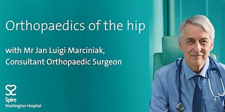Virtual Seminar - Orthopaedics of the Hip tickets