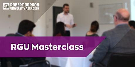 RGU Masterclass: Entrepreneurship tickets