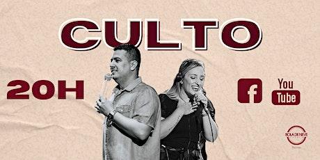 Culto BDN Pelotas Quinta 20H ingressos