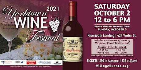 Yorktown Wine Festival 2021 tickets