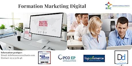 Formation Initiation au Marketing Digital billets