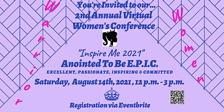 """""""Inspire Me 2021"""" - Anointed To  Be  E.P.I.C. tickets"""