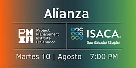 Alianza PMI El Salvador con ISACA San Salvador entradas