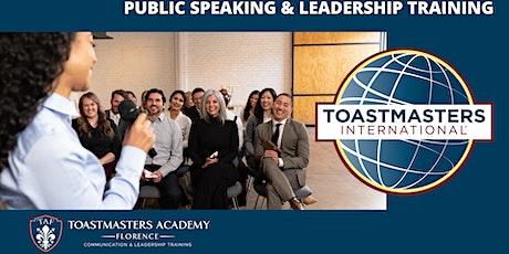 Diventa un Esperto Comunicatore – Workshop Toastmasters sull'arte oratoria biglietti